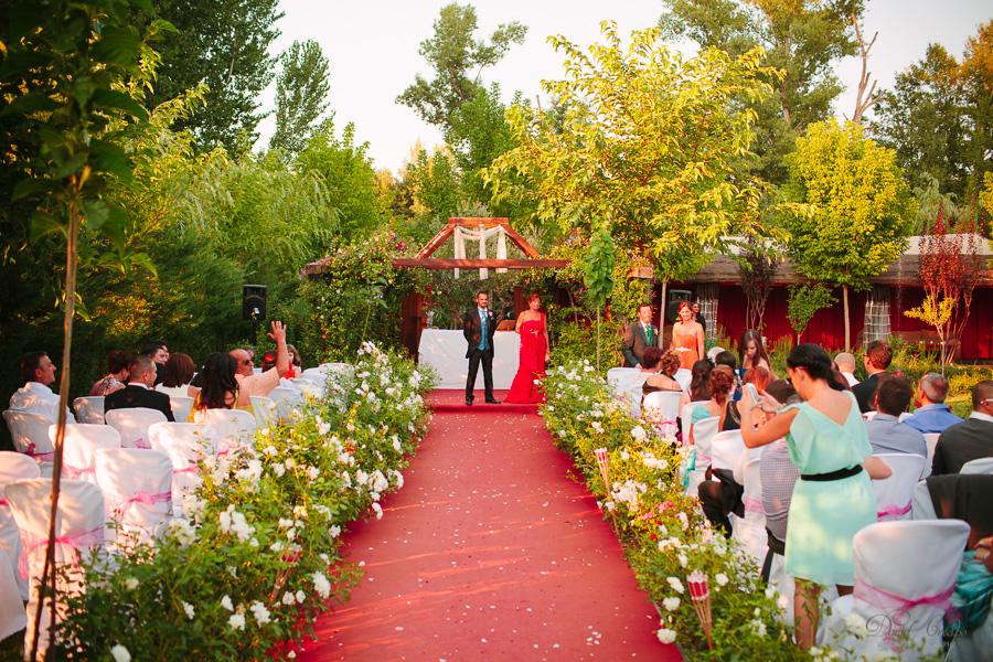boda en los jardines del alberche aldea del fresno