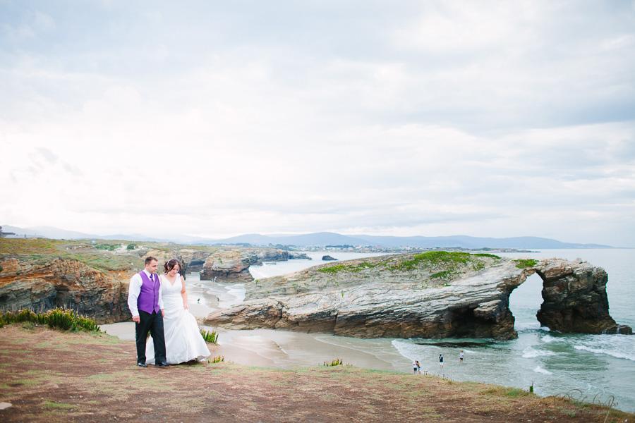 PostBoda en Playa de Las Catedrales, As Catedrais, Ribadeo, Lugo. Fotografo de bodas David Crespo (7)