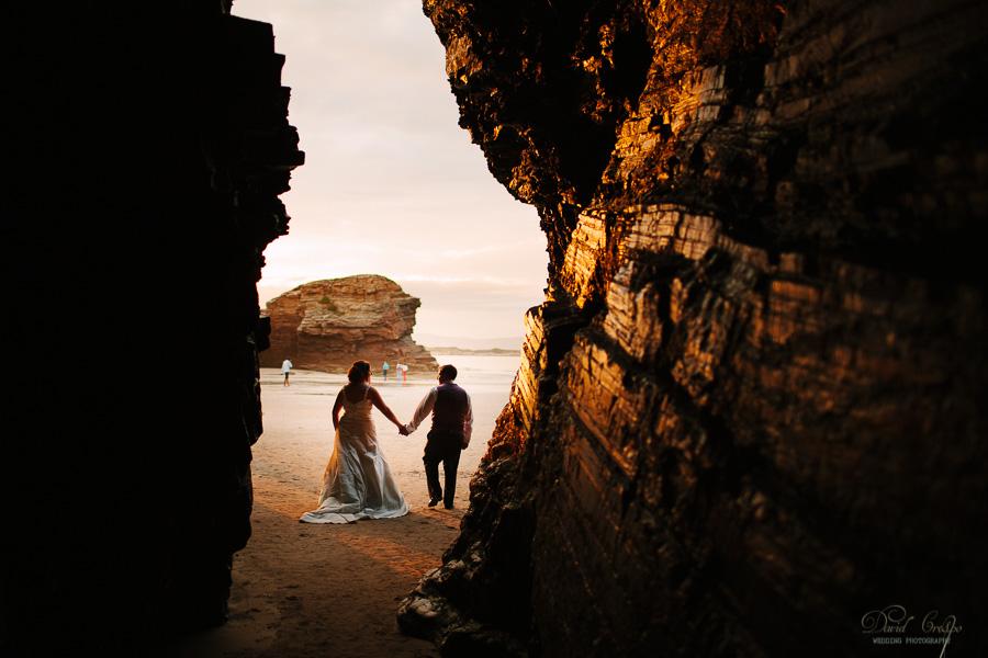 PostBoda en Playa de Las Catedrales, As Catedrais, Ribadeo, Lugo. Fotografo de bodas David Crespo (31)