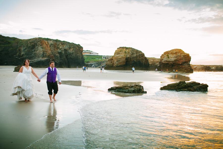PostBoda en Playa de Las Catedrales, As Catedrais, Ribadeo, Lugo. Fotografo de bodas David Crespo (35)