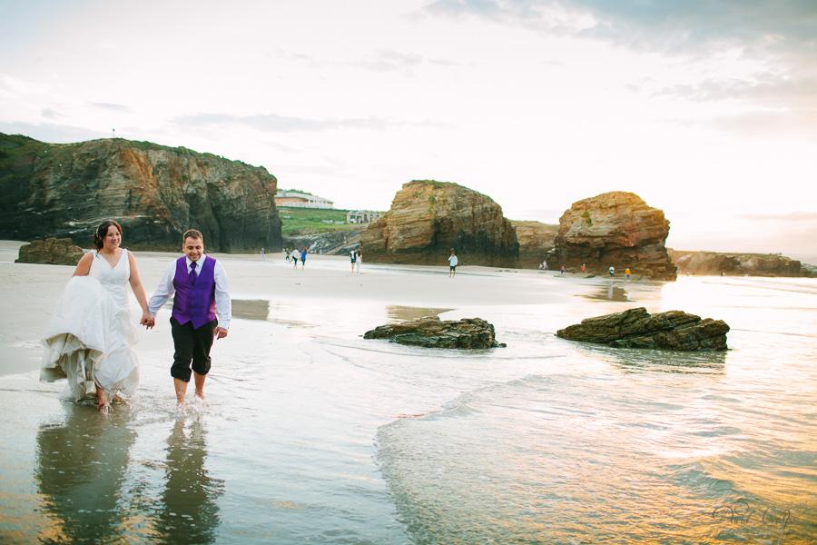 PostBoda en Playa de Las Catedrales, As Catedrais, Ribadeo, Lugo. Fotografo de bodas David Crespo (36)