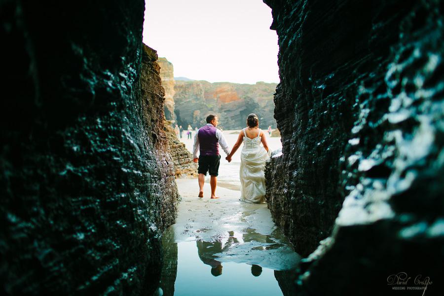 PostBoda en Playa de Las Catedrales, As Catedrais, Ribadeo, Lugo. Fotografo de bodas David Crespo (46)