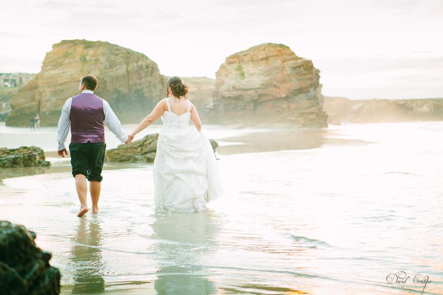 PostBoda en Playa de Las Catedrales, As Catedrais, Ribadeo, Lugo. Fotografo de bodas David Crespo (49)