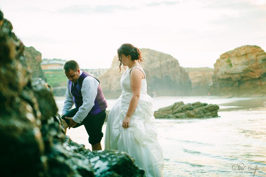 PostBoda en Playa de Las Catedrales, As Catedrais, Ribadeo, Lugo. Fotografo de bodas David Crespo (51)