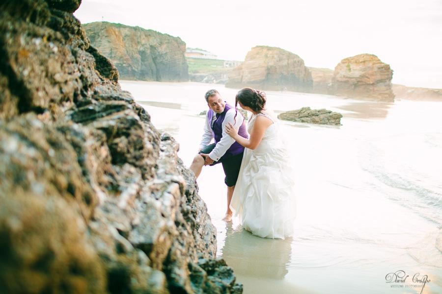 PostBoda en Playa de Las Catedrales, As Catedrais, Ribadeo, Lugo. Fotografo de bodas David Crespo (52)