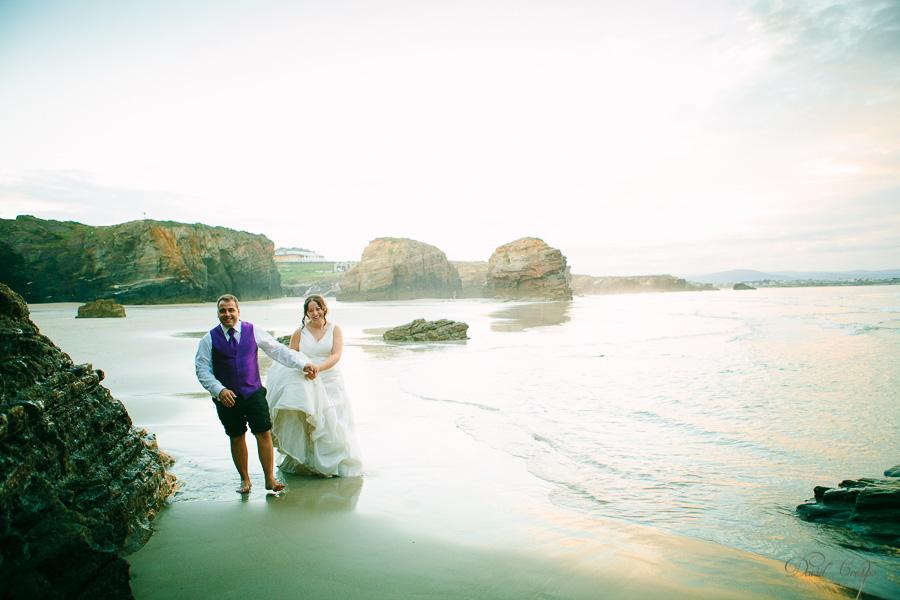 PostBoda en Playa de Las Catedrales, As Catedrais, Ribadeo, Lugo. Fotografo de bodas David Crespo (53)