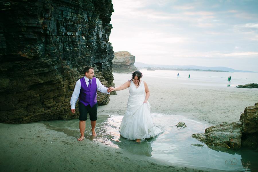 PostBoda en Playa de Las Catedrales, As Catedrais, Ribadeo, Lugo. Fotografo de bodas David Crespo (59)