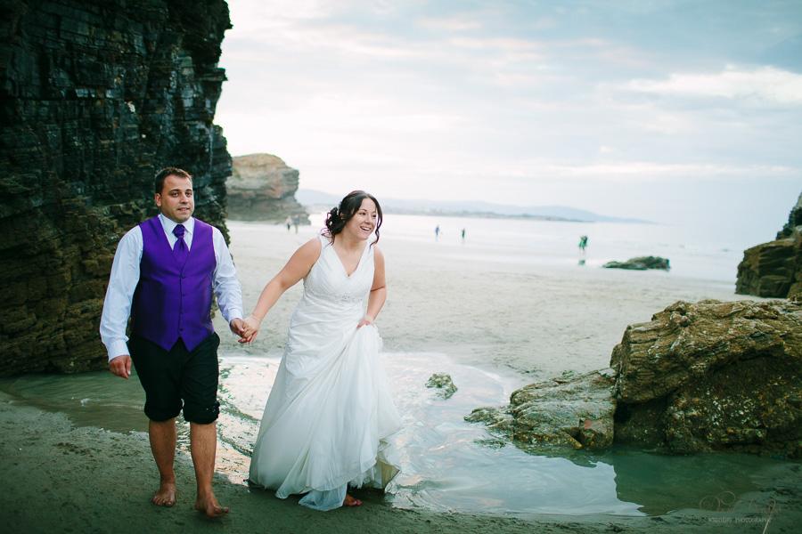 PostBoda en Playa de Las Catedrales, As Catedrais, Ribadeo, Lugo. Fotografo de bodas David Crespo (60)