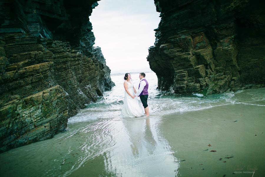 PostBoda en Playa de Las Catedrales, As Catedrais, Ribadeo, Lugo. Fotografo de bodas David Crespo (62)