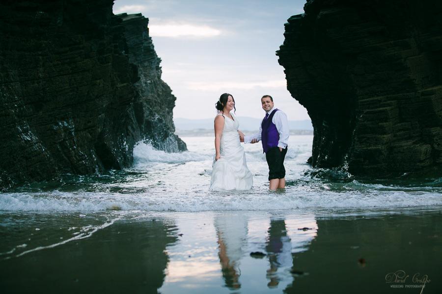 PostBoda en Playa de Las Catedrales, As Catedrais, Ribadeo, Lugo. Fotografo de bodas David Crespo (67)