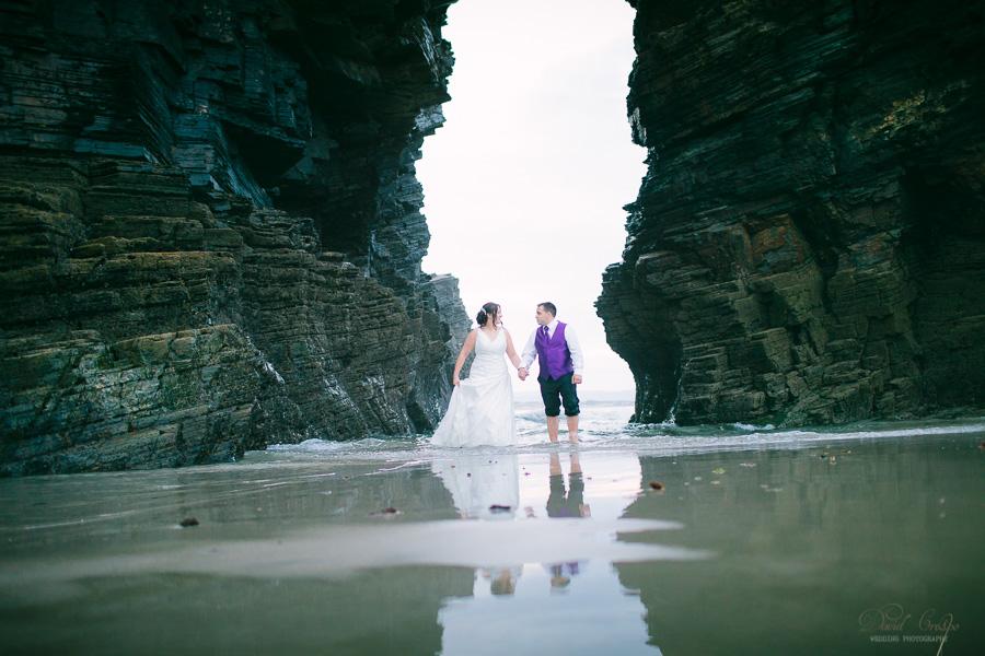 PostBoda en Playa de Las Catedrales, As Catedrais, Ribadeo, Lugo. Fotografo de bodas David Crespo (69)
