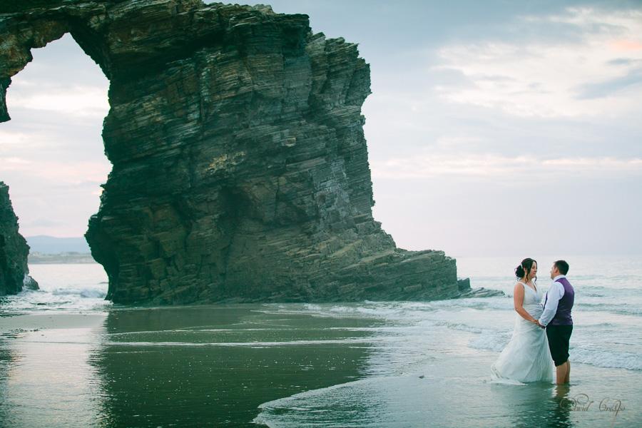 PostBoda en Playa de Las Catedrales, As Catedrais, Ribadeo, Lugo. Fotografo de bodas David Crespo (73)
