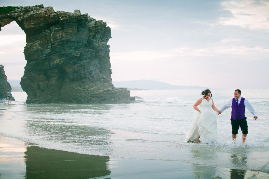 PostBoda en Playa de Las Catedrales, As Catedrais, Ribadeo, Lugo. Fotografo de bodas David Crespo (75)