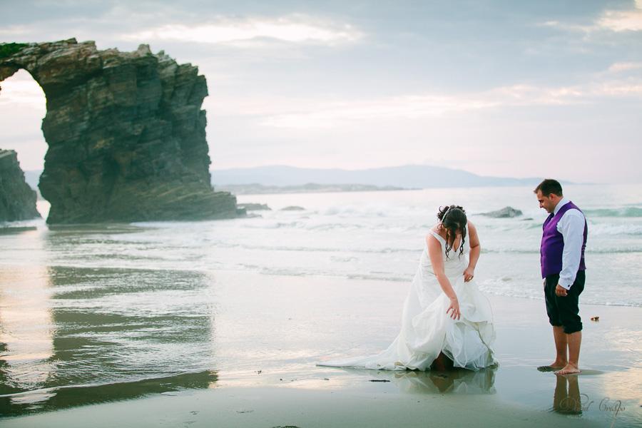 PostBoda en Playa de Las Catedrales, As Catedrais, Ribadeo, Lugo. Fotografo de bodas David Crespo (79)