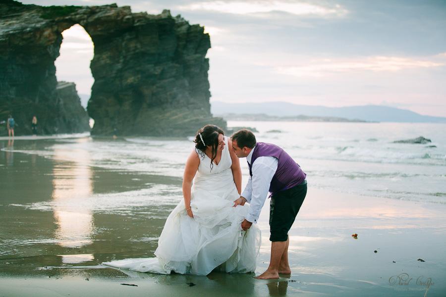 PostBoda en Playa de Las Catedrales, As Catedrais, Ribadeo, Lugo. Fotografo de bodas David Crespo (80)